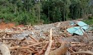 Vụ sạt lở ở Phước Sơn vùi lấp 11 người: Lực lượng cứu hộ phải ngủ lại trong rừng