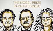 Giải Nobel Vật lý 2020 ghi nhận phát hiện về hố đen vũ trụ