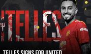 Cavani nhận áo số 7, Telles và Pellistri gia nhập Man United giờ chót