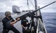 Tàu khu trục Mỹ đến gần quần đảo Hoàng Sa