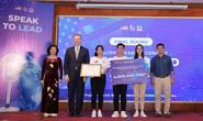 Đội học sinh từ An Giang giành thắng lợi thi hùng biện bằng tiếng Anh