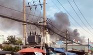 TP HCM: Hỏa hoạn sát chợ ở Tân Phú, nhiều người lo lắng