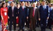 Tổng Bí thư, Chủ tịch nước Nguyễn Phú Trọng thăm trường xưa dịp kỷ niệm 70 năm thành lập