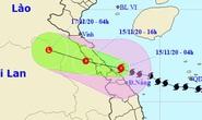 Bão số 13 giật cấp 12 đổ bộ vào từ Hà Tĩnh đến Thừa Thiên - Huế