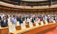 Quốc hội tưởng niệm đồng bào tử nạn, cán bộ chiến sĩ hy sinh
