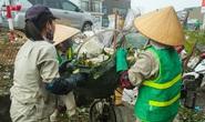 Công nhân môi trường ngừng việc vì bị chậm lương