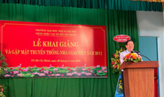 Bộ trưởng Bộ Nội vụ: Sinh viên phải có ước mơ để phát triển đất nước