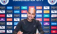 Pep Guardiola gia hạn 2 năm, Man City tự tin chờ đại chiến