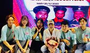 Kép độc Khánh Tuấn truyền nghề cho diễn viên trẻ