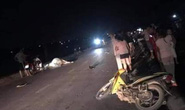 2 người thương vong vì tông trúng con bò trên quốc lộ