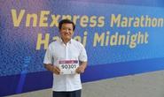 Đang chấn thương, ông Đoàn Ngọc Hải tham gia giải chạy Marathon thứ 7 trong 2 tháng