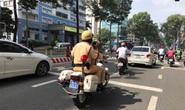 CSGT có nên lao ra đường chặn xe vi phạm?: Áp dụng nhiều biện pháp xử lý vi phạm