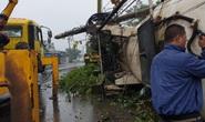 Xe bồn chở gas lao vào nhiều nhà dân trên Quốc lộ 20, gây cảnh tượng kinh hoàng