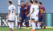 Messi, Griezmann lập siêu phẩm, Barcelona lên Top 7 La Liga