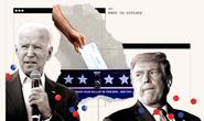 Bầu cử Mỹ: Bang Wisconsin bất ngờ đổi màu từ hồng sang xanh nhạt, ông Biden thêm hy vọng
