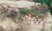 Lở núi Trà Leng: Tìm được thi thể thứ 9 là một bé gái, còn 13 người mất tích