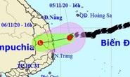 Bão số 10 thành áp thấp nhiệt đới, miền Trung mưa lớn