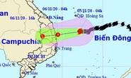 Bão số 10 sẽ suy yếu thành áp thấp nhiệt đới trước khi đổ bộ, miền Trung mưa lớn