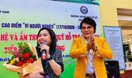 Nghệ sĩ Linh Tâm gây quỹ vì người nghèo và học bổng hiếu học