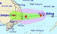 Tin bão khẩn cấp, miền Trung mưa lớn tới 400 mm từ trưa nay 9-11