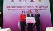 AEON Việt Nam cùng AEON TOPVALU Việt Nam hỗ trợ người dân miền Trung