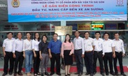 Công đoàn SAMCO gắn biển công trình đầu tư nâng cấp Bến xe An Sương