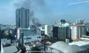 CLIP: Cháy trong hẻm 416 Nguyễn Đình Chiểu, quận 3, TP HCM
