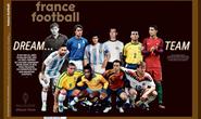 Đội hình trong mơ Quả bóng vàng: Messi và Ronaldo sánh vai huyền thoại
