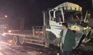Tai nạn nghiêm trọng trên cao tốc Nội Bài - Lào Cai, tài xế và phụ xe tử vong