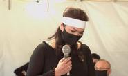 Tang lễ nghệ sĩ Chí Tài: Ca sĩ Phương Loan khóc nghẹn, hát lần cuối tiễn biệt chồng