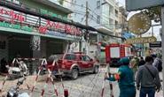 Công an phong tỏa hiện trường vụ nổ quán ăn ở quận Phú Nhuận