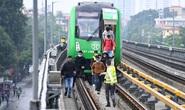 Diễn tập tình huống khẩn cấp trên tuyến đường sắt Cát Linh - Hà Đông