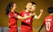 Đánh bại Hà Nội 1 Watabe, TP HCM 1 rộng cửa vô địch Giải Bóng đá nữ VĐQG 2020