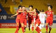 Đội bóng đá nữ TP HCM 1 rộng cửa bảo vệ ngôi hậu