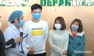 Tường thuật: 3 bệnh nhân nhiễm virus corona xuất viện