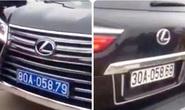 Làm rõ người điều khiển xe Lexus LX570 đầu đeo biển xanh 80A, đuôi đeo biển trắng 30A
