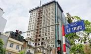 Quận Ba Đình đổ lỗi cho chủ đầu tư cản trở việc xử lý tòa nhà 8B Lê Trực