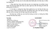 Đà Nẵng ra công văn khẩn cho học sinh nghỉ học đến hết tháng 2
