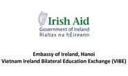 Ireland tài trợ phát triển ý tưởng dự án cho sinh viên Việt Nam