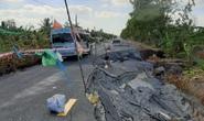 Cà Mau: Hạn mặn, sụt lún tàn phá kinh hoàng