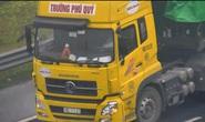 Tài xế điều khiển xe đầu kéo lùi trên cao tốc Hà Nội-Hải Phòng bị phạt 17 triệu đồng