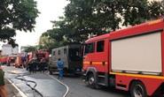 Cháy dữ dội nhà xưởng của công ty hóa chất ven TP HCM