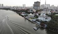 Cận cảnh biệt thự, quán bar lấn sông Sài Gòn