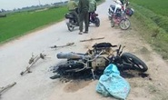 Nghi trộm chó, người dân vây đánh hội đồng thương vong 2 thanh niên, đốt xe máy