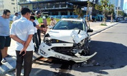 Tai nạn liên hoàn tại biển Đà Nẵng, 4 người thoát chết trong gang tấc