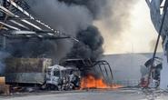 Công ty hàng chục ngàn mét vuông bị thiêu rụi ở Bình Dương