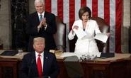 Ông Donald Trump và bà Nancy Pelosi: Những hình ảnh đầy biểu cảm