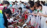 CÔNG TY TNHH NIDEC VIỆT NAM: Công nhân giải cứu 3,5 tấn thanh long cho nông dân