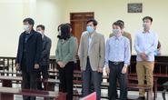 5 cựu cán bộ Thanh tra tỉnh Thanh Hóa đeo khẩu trang hầu tòa về tội Nhận hối lộ