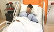 Duy Mạnh đã phẫu thuật, Đình Trọng tiếp tục dưỡng thương sau khi rời Singapore